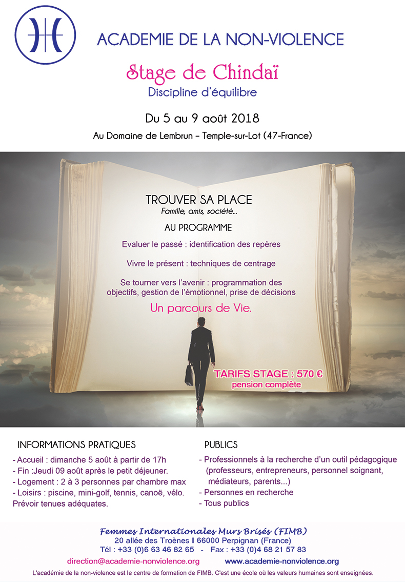 stage aout 2018